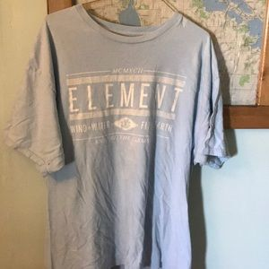 Men's T-shirt. XL. Made to endure the elements